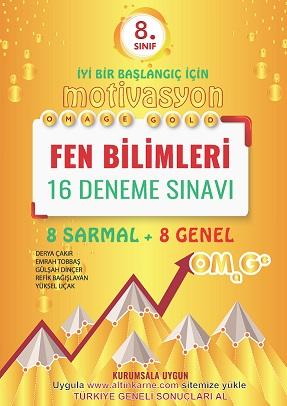 OMEGA MOTİVASYON 8.SINIF FEN BİLİMLERİ 16 DENEME