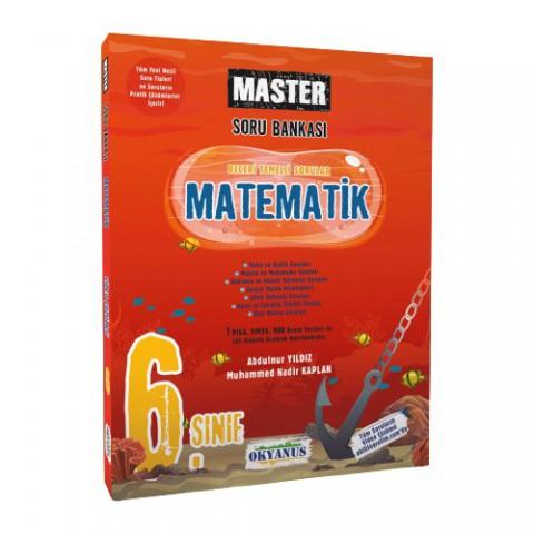 Okyanus Yayıncılık 6. Sınıf Master Matematik Soru Bankası