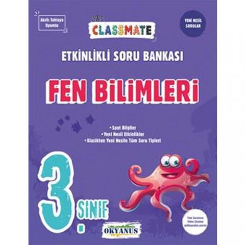 Okyanus Yayınları 3. Sınıf Fen Bilimleri Classmate Etkinlikli Soru Bankası