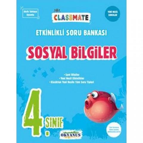 Okyanus Yayınları 4. Sınıf Classmate Sosyal Bilgiler Etkinlikli Soru Bankası