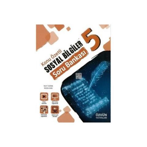 Özgün 5. Sınıf Konu Özetli Sosyal Bİlgiler Soru Bankası Yeni 2020- 2021