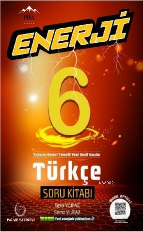 PALME ENERJİ 6 TÜRKÇE SORU BANKASI
