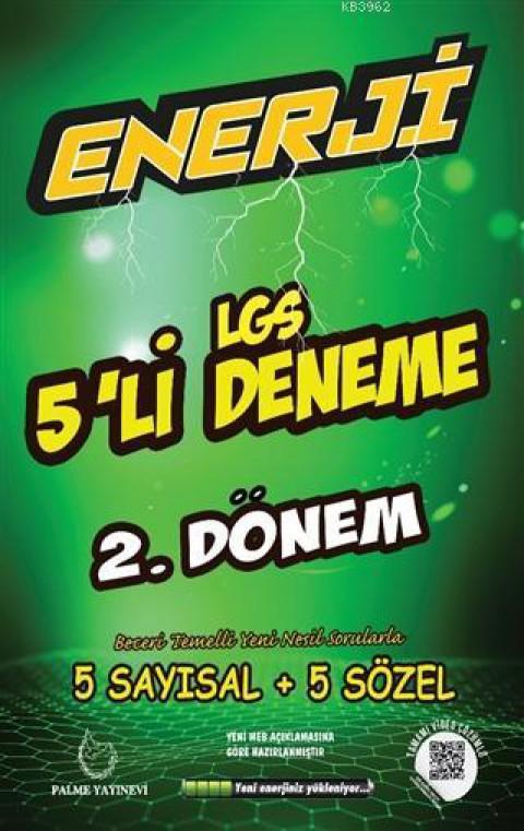 PALME ENERJİ LGS 5Lİ DENEME