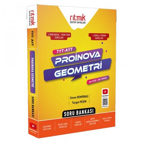 Ritmik Eğitim Yayınları TYT-AYT Proinova Geometri Soru Bankası