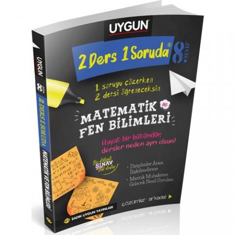 Sadık Uygun Yayınları 8. Sınıf 2 Ders 1 Soruda Matematik ve Fen Bilimleri