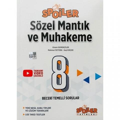 Spoiler Yayınları 8. Sınıf Sözel Mantık ve Muhakeme Spoiler Soru Bankası