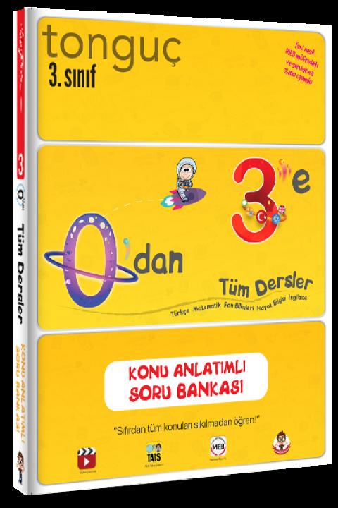 Tonguç Yayınları 0'dan 3'e Konu Anlatımlı Soru Bankası