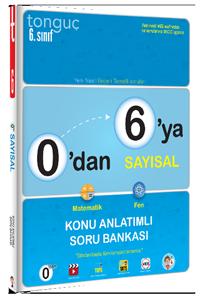 Tonguç Yayınları 0'dan 6'ya Sayısal Konu Anlatımlı Soru Bankası