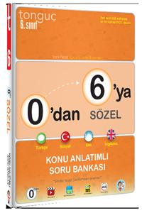 Tonguç Yayınları 0'dan 6'ya Sözel Konu Anlatımlı Soru Bankası