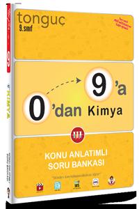 Tonguç Yayınları 0'dan 9'a Kimya Konu Anlatımlı Soru Bankası