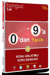 Tonguç Yayınları 0'dan 9'a Tarih Konu Anlatımlı Soru Bankası
