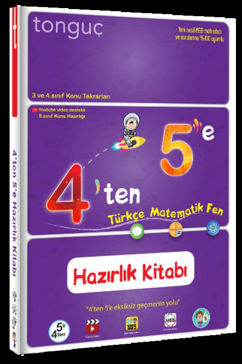Tonguç Yayınları 4'ten 5'e Hazırlık Kitabı