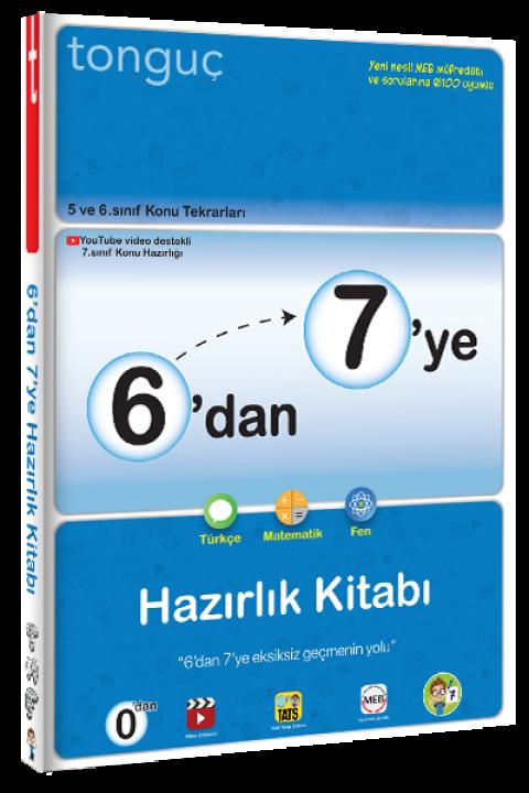 Tonguç Yayınları 6'dan 7'ye Hazırlık Kitabı