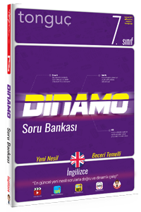 Tonguç Yayınları 7. Sınıf Dinamo İngilizce Soru Bankası