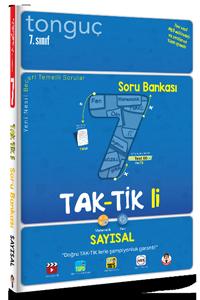 Tonguç Yayınları 7. Sınıf Taktikli Sayısal Soru Bankası
