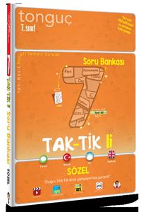 Tonguç Yayınları 7. Sınıf Taktikli Sözel Soru Bankası