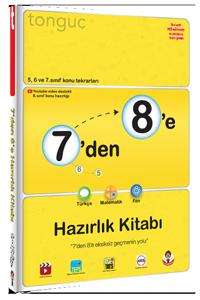 Tonguç Yayınları 7'den 8'e Hazırlık Kitabı
