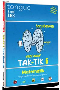 Tonguç Yayınları 8. Sınıf Matematik Taktikli Soru Bankası