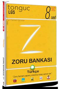 Tonguç Yayınları 8. Sınıf Türkçe Zoru Bankası