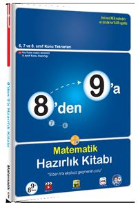 Tonguç Yayınları 8´den 9´a Matematik Hazırlık Kitabı