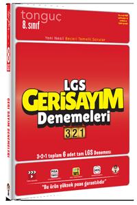 Tonguç Yayınları LGS Geri Sayım Denemeleri 321