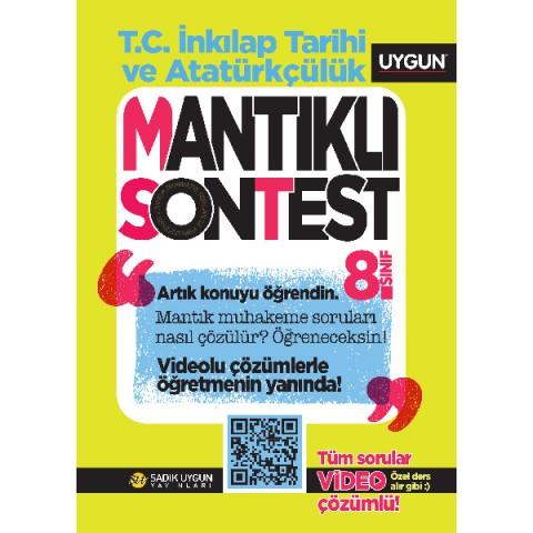 UYGUN – Mantıklı Son Test – T.C. İnkılâp Tarihi ve Atatürkçülük 8. Sınıf