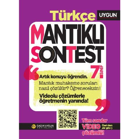 UYGUN – Mantıklı Son Test – Türkçe 7. Sınıf